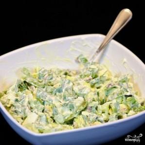 Салат из черемши с яйцом - фото шаг 7