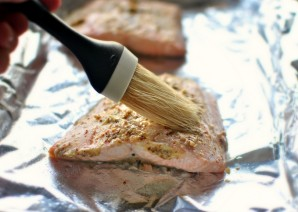 Салат из красной рыбы (семги) - фото шаг 1