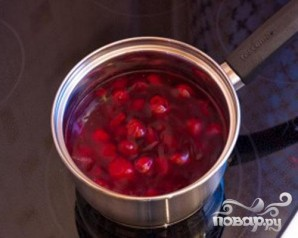 Сырники с вишневым соусом - фото шаг 5