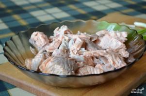 Рыбный суп с семгой - фото шаг 4