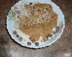 Овсяно-яблочное печенье - фото шаг 4