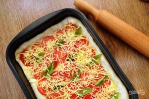 Пирог с помидорами и базиликом - фото шаг 10