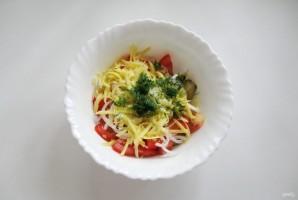 Салат с помидорами и баклажанами - фото шаг 8