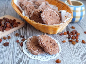 Постное шоколадное печенье - фото шаг 10