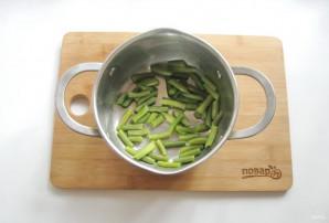 Омлет с овощами в духовке - фото шаг 3
