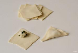 Тортеллини с сыром и шпинатом - фото шаг 7