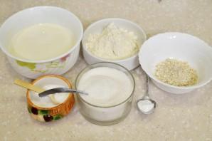 Овсяные оладьи на молоке - фото шаг 1