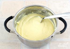 Баскский пирог с вишней и заварным кремом - фото шаг 1