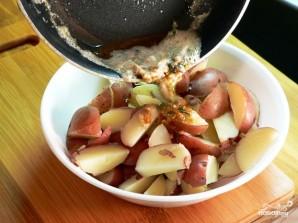 Картошка с чесноком и укропом - фото шаг 6