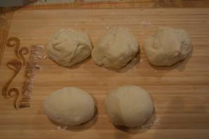 Капустные пирожки в духовке - фото шаг 5
