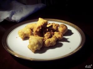 Куриная печень в кляре - фото шаг 4