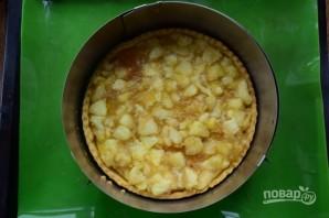 Яблочный пирог-чизкейк - фото шаг 9