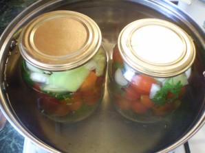 Закатка овощного ассорти - фото шаг 4