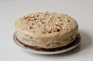Шоколадный торт с кардамоном - фото шаг 13