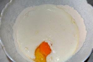 Пирог с луком на кефире - фото шаг 2