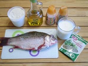 Жареная рыба в молоке - фото шаг 1