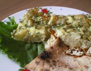 Омлет с цветной капустой в духовке - фото шаг 6