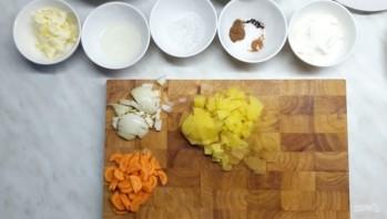 Грибная юшка (суп с грибами) - фото шаг 2