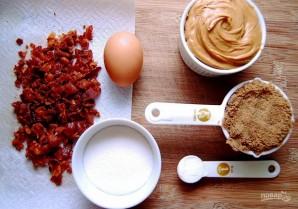 Сахарное печенье с беконом - фото шаг 1