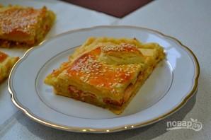 Слоеный пирог с горбушей - фото шаг 11