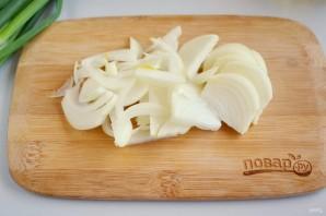 Картофель с луком - фото шаг 4