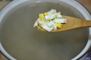 Суп щавелевый с фрикадельками - фото шаг 9