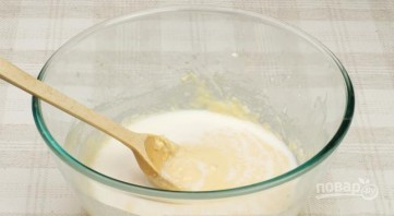 Блины из молока - фото шаг 3