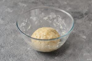 Постный пирог со сливами - фото шаг 4