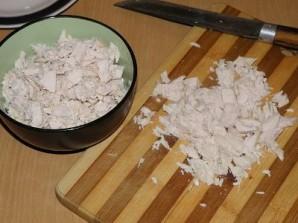 Лаваш с курицей и сыром  - фото шаг 1