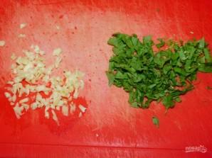 Тефтели в белом соусе с чесноком и базиликом - фото шаг 4