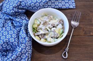 Салат из гусиной печени - фото шаг 6