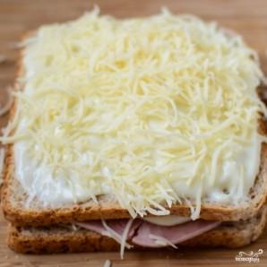 """Французские тосты """"Крок-месье"""" - фото шаг 6"""