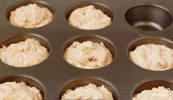 Постные яблочные кексы - фото шаг 4