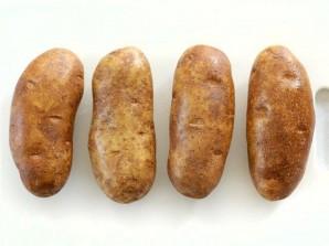 Запеченный картофель с брокколи и сыром  - фото шаг 1