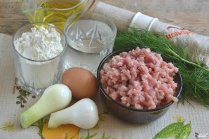 Чебуреки с мясом - фото шаг 1