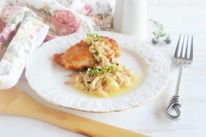 Курица в сливочном соусе Piccata - фото шаг 7