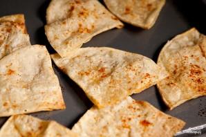 Кукурузные чипсы начос - фото шаг 2