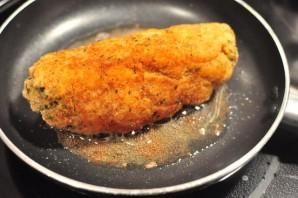 Курица на сковороде с сыром - фото шаг 4