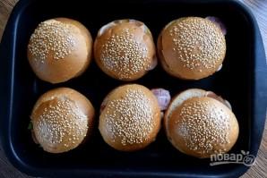 Горячие булочки с яйцом и сыром - фото шаг 6