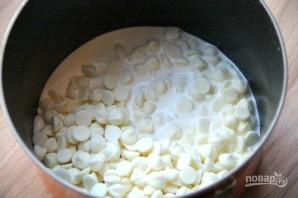 Чизкейк из белого шоколада - фото шаг 3