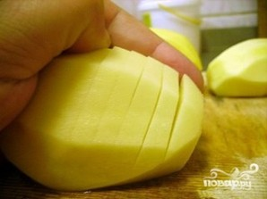 Картофель с грудинкой - фото шаг 3