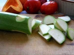Рагу из маринованного кролика с овощами и грибами - фото шаг 3