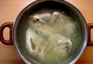 Суп картофельный с курицей - фото шаг 1