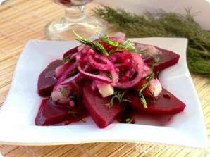 Салат из сырой свёклы - фото шаг 6