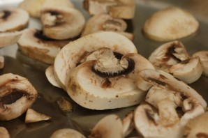 Мясо, запеченное с грибами - фото шаг 1