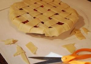 Быстрый пирог с вишней - фото шаг 8