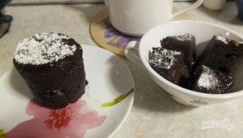 Шоколадный кекс в микроволновке - фото шаг 3