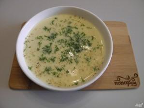 Сырный суп из плавленых сырков - фото шаг 8