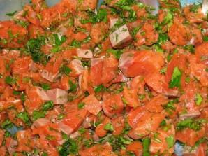 Пирожки с красной рыбой - фото шаг 2