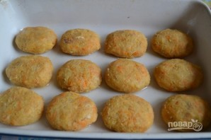Рыбные котлеты в сырной шубе - фото шаг 8